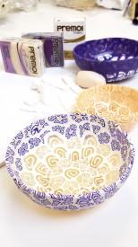 Masterclass Pâte Polymère : des bols décos en millefiori© Les Ateliers YouDo