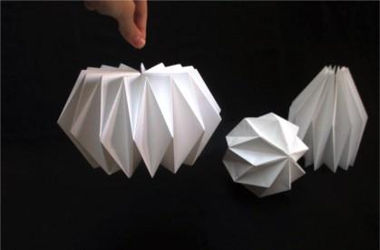 Luminaire Origami - Design en Papier© Les Ateliers YouDo