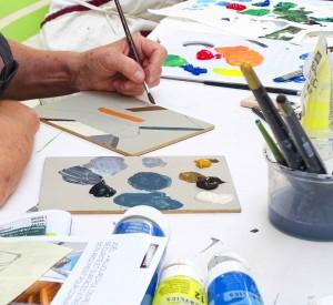 Atelier Peinture Acrylique© Les Ateliers YouDo
