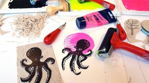 Atelier Initiation à la gravure© Les Ateliers YouDo