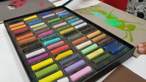 Atelier Initiation au Pastel sec© Les Ateliers YouDo