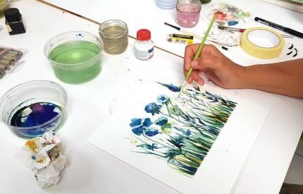 Atelier Peinture à l'Encre© Les Ateliers YouDo